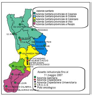Regione Calabria Cartina Politica.Asp Catanzaro Servizio Sanitario Regionale